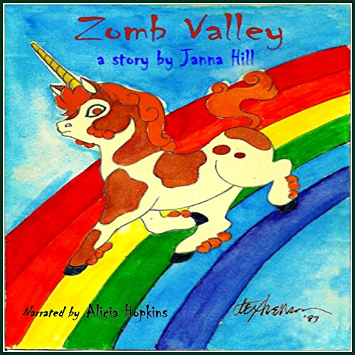 Zomb Valley audiobook cover art