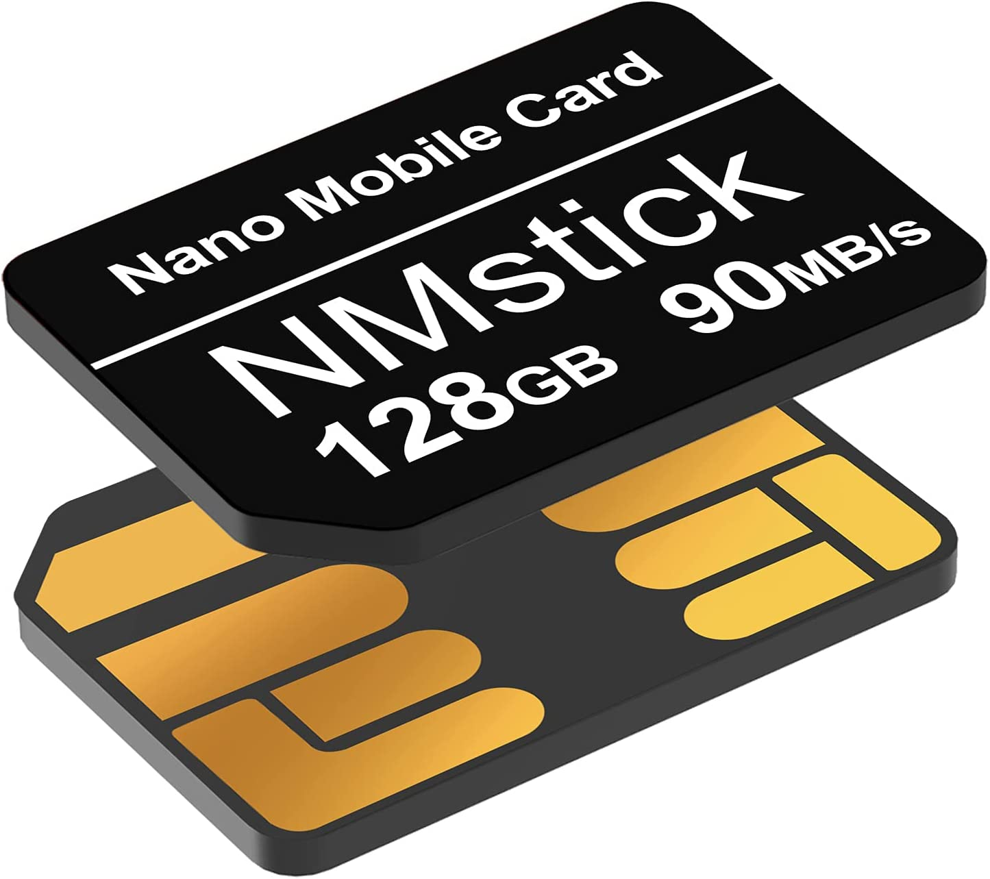 Enhanced Version NM Card 128GB 90MB/S Nano Memory Card Nano Card only Suitable for Huawei P30/P30pro/P40 series/Mate20 Series/Mate30 Series Nano 128GB Card
