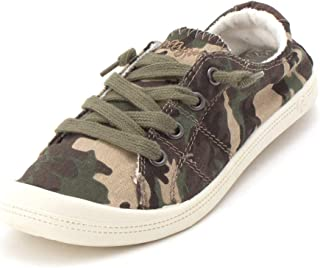 camouflage flats shoes