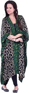 LOTUSTRADERS 1st Quality Rayon Batik 3/4 Sleeve Kimono Wrap Jacket Z418 One Size