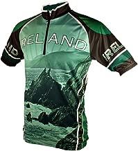 Wild Atlantic Ireland Cycling Jersey (M) Black/Green