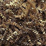 1 X Natural Tan Kraft Crinkle Shred Gift Basket Shred Crinkle Paper Filler Bedding
