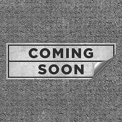 36x12 Basic Gray Heavy-Duty Industrial Self-Adhesive Aluminum Wall Decal Coming Soon
