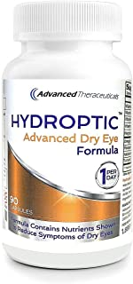 HYDROPTIC Advanced Dry Eye Formula (One-Per-Day) 90 Day Supply + Free Shipping