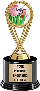Crown Awards Mothers Day Trophies with Custom Engraving, 7.25