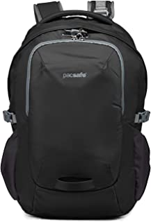 "Pacsafe Venturesafe G3 Anti Theft Travel Backpack/Daypack - Fits 17"" Laptop, Black (Black) - 60545100"