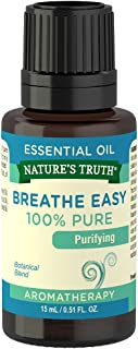 Nature's Truth Essential Oil, Breathe Easy, 0.51 Fluid Ounce