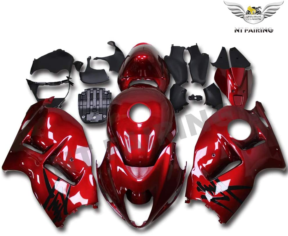 Max 85% OFF Fairing Free shipping New Complete Glossy Red Fit for GSXR 1300 H 1997-2007 Suzuki