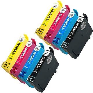IB10-PGCL4A(PGKA/CA/MA/YA) 【4色×2セット/計8本】【KA顔料】 エプソン用インクカートリッジ 互換インク (最新ICチップ搭載/残量検知対応/デジタル説明書付き(QR)) 対応機種:EW-M530F カードケース ...