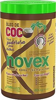 Creme de Tratamento Óleo de Coco 400 g, Novex