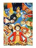CoolChange Puzzle de One Piece, 1000 pièces, Motif: l'equipage Chapeaux de Paille