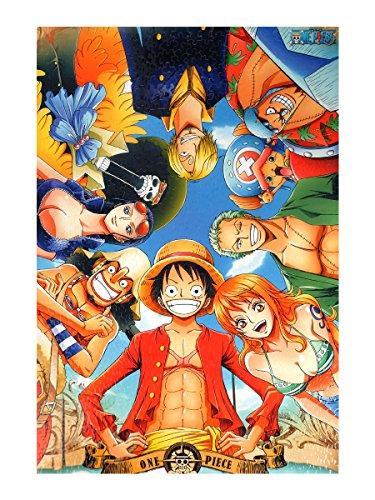 CoolChange Puzzle de One Piece, 1000 Piezas, Tema: el Equipaje Sombreros de Paja