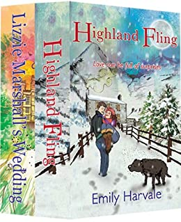 A Pair of Romantic Comedies - Highland Fling and Lizzie Marshall's Wedding: A Box Set by [Emily Harvale]