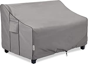 BOLTLINK Outdoor Patio Furniture Covers Waterproof,Durable Loveseat Sofa Cover Fits up to 58W x 32.5D x 31H inches