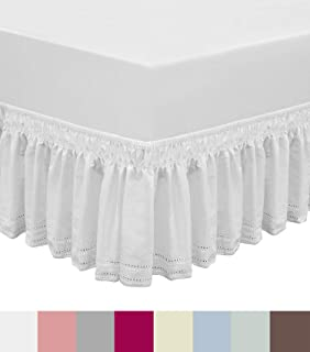 2 sided bed skirt