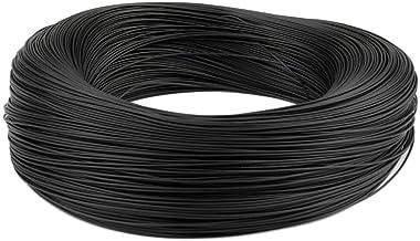 ADGSSJ 5 m/ètres 24 AWG 22 AWG 20 AWG RVV 2//3//4//5//6//7//8 conducteurs Fil de cuivre conducteur C/âble /électrique RVV C/âble noir sous gaine souple 20AWG 6C 5 m/ètres C/âble