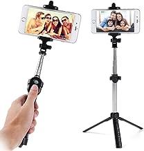 Wireless Remote Control Selfie Stick Mini Tripod Fit for OnePlus 7 Pro 5G, 7 Pro, 7, for Motorola Moto Z4, G7, G7 Power, G7 Play, G7 Plus, One Vision, for Alcatel Avalon V, 1X, 1, 1s, 3, 3L