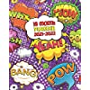 18 Month Planner 2021-2022: Weekly Calendar, Agenda, Organizer with Vision Boards, Notes, To-Do's - Purple Pop Art Speech Bubbles