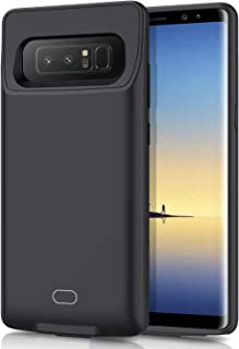 HETP Galaxy Note 8 Battery Case 7000mAh Portable Rechargeable External Battery Pack for Samsung Galaxy Note 8 Charger Case for Note 8 Protective Charging Case - Black