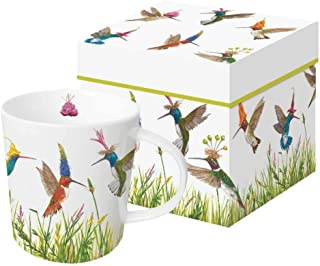 Paperproducts Design PPD 603366 Meadow Buzz Mug in Gift Box, 13.5oz, Multicolor