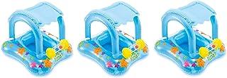 Intex Baby Float Inflatable Swimming Pool Kiddie Tube Raft (3 Pack)
