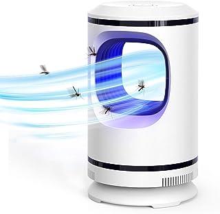 Ahlirmoy Lampe anti-moustiques, piège à insectes électronique à 360 °, silencieux, sans rayonnement, piège à mouches avec ...