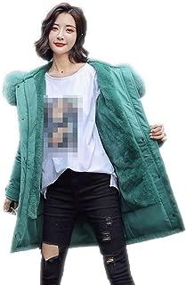 Surprise S Women Parka Liner Coat Warm Down Jacket Long Coat
