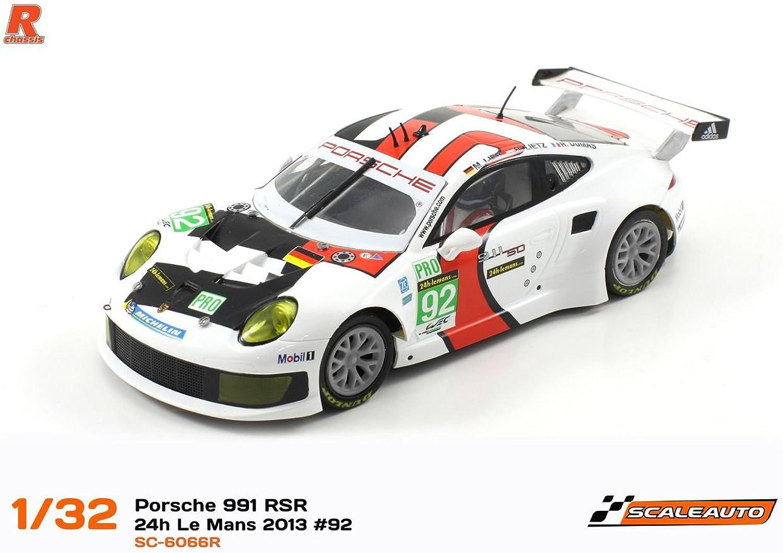 40% de descuento Scaleauto SC-6065R Porsche 991 RSR 24h Le Mans 2013 n.92 n.92 n.92 Winner  nuevo sádico