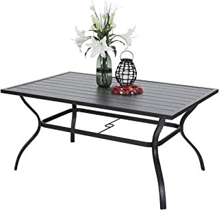 Best patio dining table with umbrella Reviews
