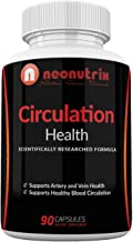 Blood Circulation Health Supplement for Vein Health & Artery Health - L-Arginine, Ginger Root, Hawthorn & Diosmin Cardiovascular Supplement - Natural Circulation Supplements - 90 Capsules by Neonutrix