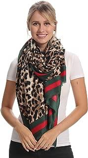 Fashion Printed Long Scarf, 15 Classic Patterns, Cozy Soft, Big Size for All Season