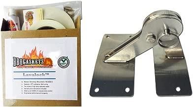 WSM Hinge & Gasket Kit, Weber Smokey Mountain Smoker Grill 18.5 22.5