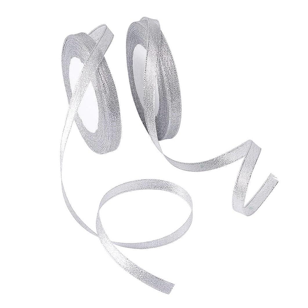 Pandahall 10rolls Sparkle Ribbon 3/8