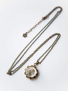 Collana steampunk, collana di ingranaggi, gioielli in bronzo, collana vittoriana, gioielli di Gears fatti a mano, collana ...