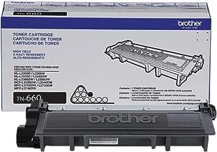 Brother HL-L2360DW (TN660) Black Toner High Yield (2,600 Yield) - Genuine Original OEM Toner