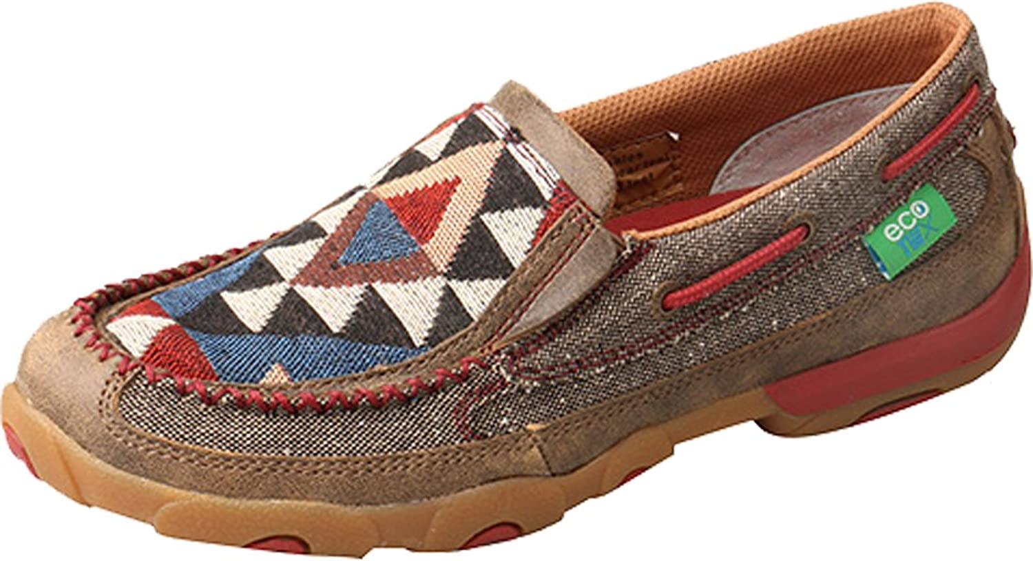 Twisted X Womens ECO TWX Slip-On Driving Moccasins