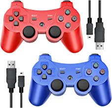 $23 » PS3 Wireless Controller, PS3 Controller for Playstation 3 Controller, PS3 Wireless Bluetooth Gamepad with Double Shock and...