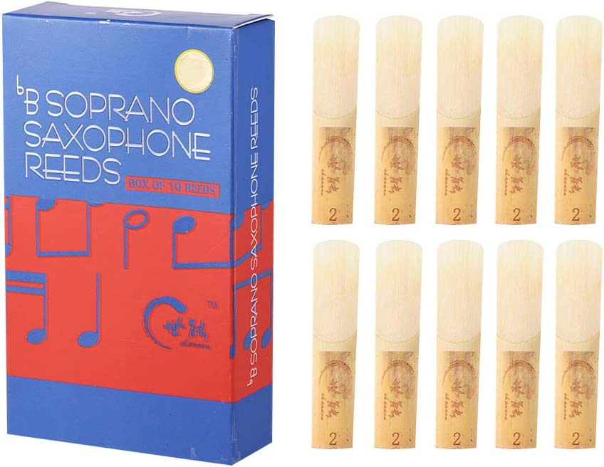 Professional Level Bb Soprano Saxophone 2.0 Popular overseas Reeds 1 year warranty Strength Sax