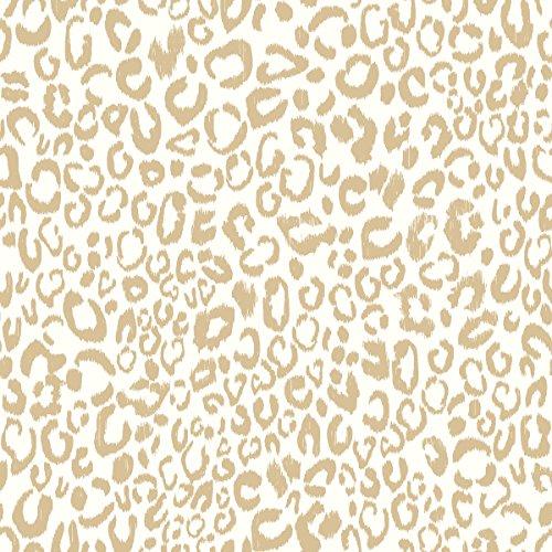 RoomMates Leopard Peel and Stick Wallpaper