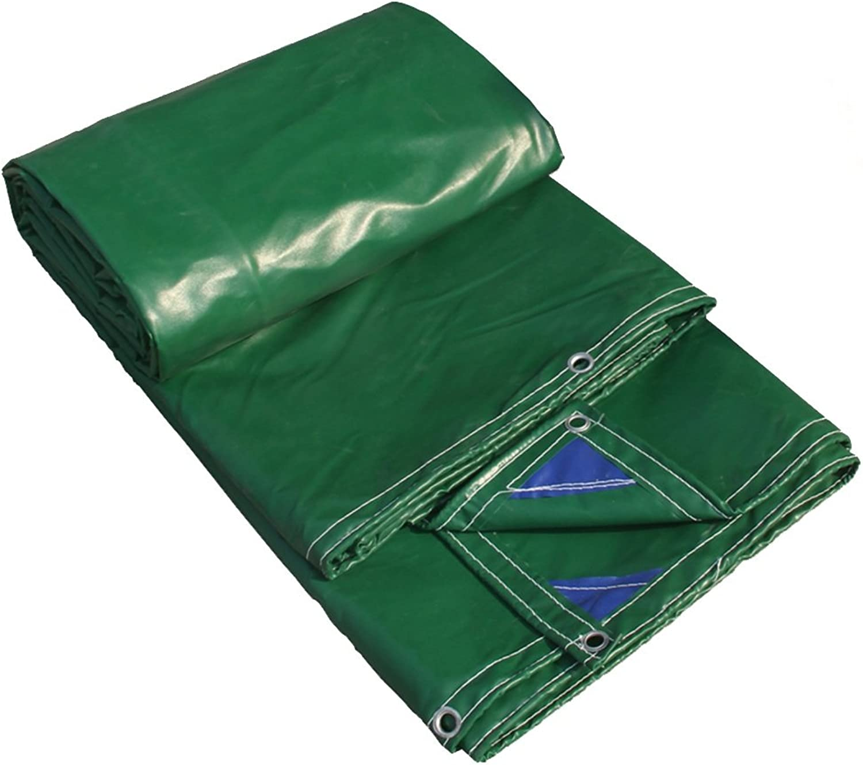 Tarpaulin HUO Starke Plane, Hochleistungsmehrzweckregen-Tuch, Anti-UV DIY Material, 400g   M2 (Farbe   Grass Grün, größe   4  5m) B07DRD6KNX  Macht das Leben