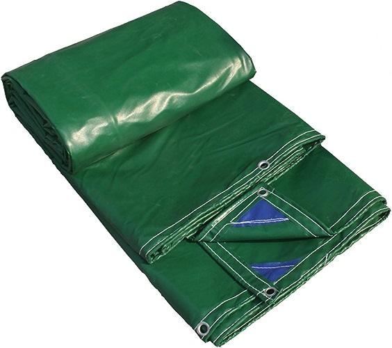 Tarpaulin HUO Bache Forte, Tissu De Pluie Polyvalent Résistant, Matériel Anti-UV DIY, 400g   M2 (Couleur   Grass vert, Taille   5  6m)