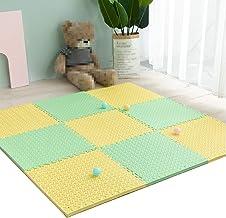 MAHFEI-puzzelmatten vloerbeschermingsmatten fitnessmat beschermer antislip schokdemping kou bescherming eenvoudig te reini...