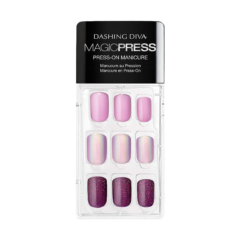 省メイン上向きDashing Diva - Magic Press - Press-On Manicure - Northern Light - 30 Pieces