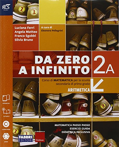 Da zero a infinito. Extrakit-Openbook-Quaderno. Per la Scuola media. Con e-book. Con espansione online (Vol. 2)