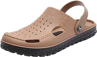 Cyiecw Unisex Garden Shoes Sandals Slippers Outdoor Walking Slippers Anti-Slip Beach Shower Sandals