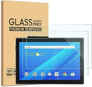 "[2-Pack] PULEN Screen Protector for Lenovo Tab M10 10.1"",Easy Installation Anti-Fingerprints 9H Hardness Bubble Free Tempered Glass for Lenovo Smart Tab M10 (10.1"")"