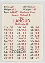 Joe Lahoud (Baseball Card) 1974 APBA Baseball 1973 Season - [Base] #JOLA