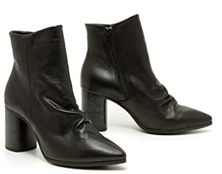 High-Hill JOLLIANA Model Leather Boots for Women