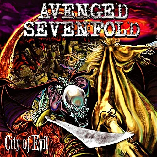 Album Art for City of Evil (Transparent Red Vinyl) by Avenged Sevenfold