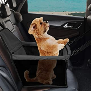 PaWz Pet Car Booster Seat Puppy Cat Dog Auto Carrier Travel Protector Safety Black